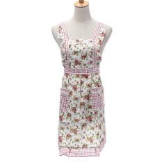 Harga Celemek Wanita Motif Bunga For Memasak Dilengkapi Saku Baju 07 Internasional Termahal