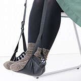 Beli Fashion Portable Cotton Knitted Footrest Flight Carry On Foot Hammock Office Foot Stand Desk Feet Rest Intl None Asli