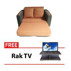 FCENTER Sofabed Recklening Vinca FREE Rak TV AVR 01 ( PULAU JAWA )