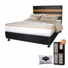 FCENTER Spring Bed FULL SET Virenze Serena Pillowtop Uk 180X200 Jawa Tengah Cilacap Banyumas Purwokerto Kebumen Purbalingga