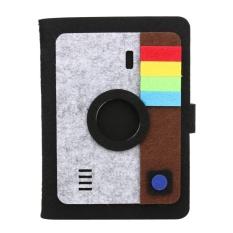 Felt Insert Tipe Polaroid Photo Album Baby Pertumbuhan Souvenir Memorial Book (Kamera)-Intl