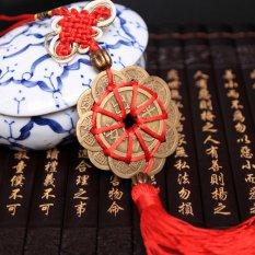 Feng Shui Mystic Simpul 10 Cina Koin Keberuntungan Obat Rumah Karir Health Wealth-Intl