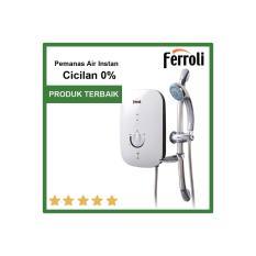 Ferroli water heater instan cocok untuk anak kost pindah tinggal cabut