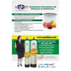 Filter Air Nico / Penyaring Zat Besi Tinggi Garansi 1Th / Media Filter