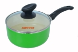 Model Fincook Ceramic Sauce Pan Csp 1803 18Cm Hijau Terbaru