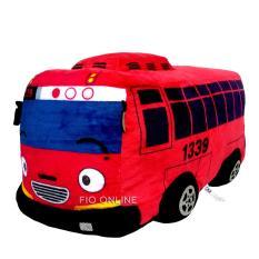 Spesifikasi Fio Online Bantal Dekorasi Bantal Boneka Logo The Litte Bus Teman Tayo Gani Merah Size L Merk Fio Online