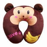 Jual Fio Online Bantal Mobil Bantal Leher Monkey Coklat