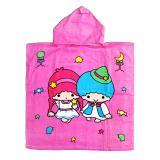 Jual Fio Online Handuk Ponco Anak Anak Model Twin Little Star Pink Fio Online Grosir