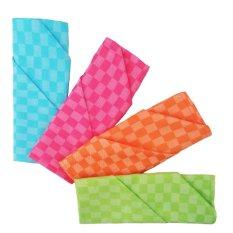 Cuci Gudang Fio Online Serbet Makan Napkins Ukuran Besar 70 X 70 Cm Warna Warni 4 Pcs