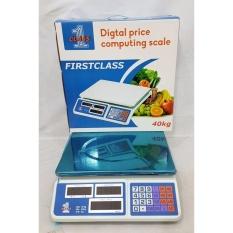 First Class Digital Price Computing Scale 40kg / Timbangan Buah / Timbangan Loundry / Timbangan Barang - Digital