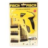 Spek Fisch Ts601200 Cordless Screwdriver Fisch Obeng Dan Bor Electric Kuning Fisch