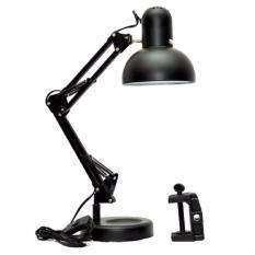 Promo Fitting Lampu Meja Jepit Tembok Belajar Model Arsitek Lamp 3 In1
