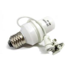 Fitting Lampu Sensor Cahaya - Putih