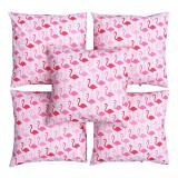 Spesifikasi Flanelade Sarung Bantal Sofa Motif Flamingo Pink 5 Buah Dan Harga
