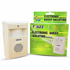 DSH Flazz Bell Pintu Sensor Gerak Electronic / Alarm Gerak Sensor Flazz Original - White