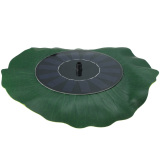 Kualitas Floating Lotus Leaf Solar Powered Fountain Pompa Air Untuk Pond Garden Fish Tanl Oem