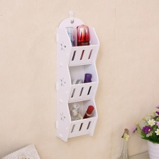 Floating Shelves - Rak Dinding Decorative Gantung Tempat HP/Kosmetik/Remote TV