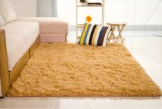 Berbulu Karpet Anti Slip Ramus Area Karpet Ruang Tamu Kamar Tidur-Kamar Makan Lantai Karpet Tikar