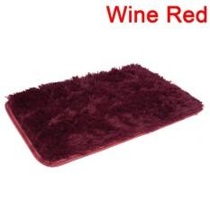 Berbulu Karpet Antislip Ramus Daerah Ruang Makan Karpet Rumah Karpet Kamar Tikar 60 Cm * 40 Cm -Internasional