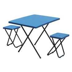 Jual Folding Table With 2 Chairs Ft 3 Termurah