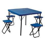 Toko Folding Table With 4 Chairs Ft 4 Anaconda Indonesia