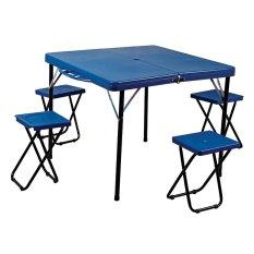 Folding Table With 4 Chairs Ft 4 Anaconda Diskon 30