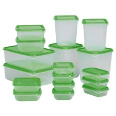 Food Container Ikea Pruta 1 Set/17 Pcs