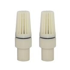 EELIC FOK-P3001 UKURAN 1/2 INCH 2 PCS FOOT KLEP BERBAHAN PVC