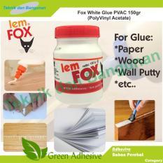 Fox Lem Putih PVAc 150 gr @4bottle/pack