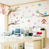 Toko Frd Lucu Wall Sticker Removable Wallpaper Art Decal Roomdecoration Reusable Peel And Stick Wall Sticker Untuk Anak Anak Walldecals Intl Di Tiongkok
