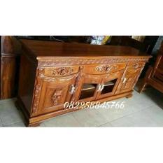 Free Ongkir Bufet Rak Lemari Tv Furniture Mebel Ukir Jepara