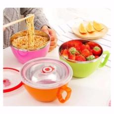 fresh bowl mangkok dengan tutup