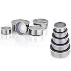 Tips Beli Fresh Box Rantang Susun 5 Pcs Tutup Kedap Udara Tempat Makanan Stainless Steel