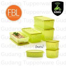 Toko Tupperware Fresh Lime Collection Free Medium Summer Fresh Lengkap Di Dki Jakarta
