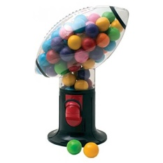 [Dari. AMERIKA SERIKAT] Football Snack Dispenser Gumball Mesin Mengeluarkan Gum Makanan Ringan Kacang Pada Hari Pertandingan Membuat Bagus Fantasy Football Hadiah- Gagasan Dalam Hidup B01KAIL0XC-Intl