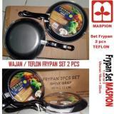 Promo Frypan Set 2 Pcs Wajan Teflon Set Isi 2 Pcs Maspion