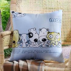 FS Besar Penjualan Multifungsi AC Siesta Quilt Bantalan Ganda Kegunaan Bantal Quilt Gaya: Anjing Union