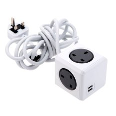 FSH PowerCube 230 V 13A Universal Stopkontak Listrik Stopkontak Adaptor