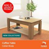 Beli Funika Vlct100 Coffee Table Dengan Rak Dibagian Bawah Khusus Jabodetabek Yang Bagus