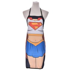 Spesifikasi Funny Cooking Apron Funny Novelty Bbq Party Wonder Woman Wacky Apron Intl Yang Bagus