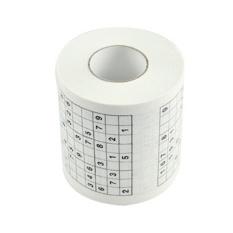 Lucu Permainan SUDOKU Toilet Kertas Roll Game Loo Tissue Novelty Hadiah--Intl