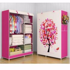 Furniture Murah Tempat Penyimpanan Baju tas Sprei Handuk Mainan Lemari Pakaian Cabinet Tree