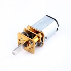 GA12-N20 DC 12 V gigi reduksi Motor DC dengan roda logam (2000 rpm)