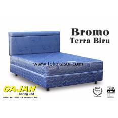 Gajah Bromo warna Biru 160x200 Kasur Tanpa Divan/Sandaran