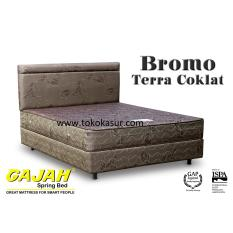 Gajah Bromo warna coklat 120x200 Kasur Tanpa Divan/Sandaran