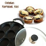 Harga Galaxy Pancake Cetakan Martabak Mini Kue Lumpur 7Lubang Anti Lengket Hitam Origin
