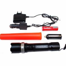 Jual Galaxy Powerstyle Senter Police Led Batre Cas Corong Lampu Lintas Charger Kit Box Antik
