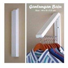 Spesifikasi Gantungan Baju Indoor Bisa Dilipat Wkt Tidak Dipakai Dinding Door Murah Berkualitas