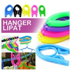 Gantungan Baju Lipat Jemuran Wonder Hanger Magic Hanger Display Multifungsi