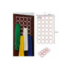 Gantungan Jilbab / Hanger 28 Ring - Bisa Untuk Hijab Sabuk dan Syal